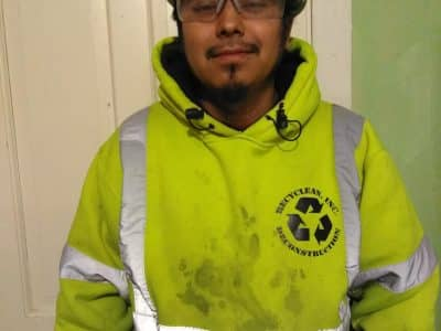 Julio Resendiz at Recyclean, Inc.